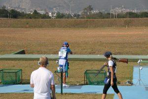 Satu Mäkelä-Nummela harjoittelemassa Rio de Janeiron olympialaisissa elokuussa 2016. Kuva: Lassi Palo