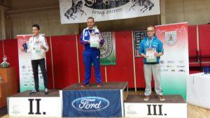 Juho Kurki sai kaksi pronssia Hungarian Open -kisasta. SUnnuntaina syntyi peruskilpailussa huipputulos. (Kuva: Pasi Wedman)