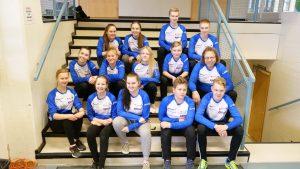 Ampumaurheilun yläkoululeiritys Tanhuvaarassa 2020. (Kuva: Pasi Massinen)